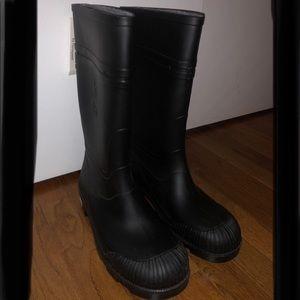 Men's Black Work Boot